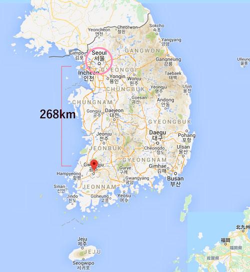 韓国光州(グァンジュ)