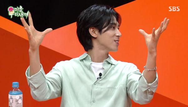 ユノ情熱トークでSBSスタジオ爆盛!