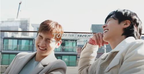 東方神起『Third Memories』Teaser #1とユノのブレス♡