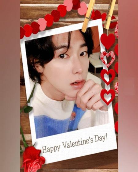 ユノからのSweet Valentine Day